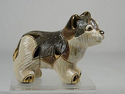 DeRosa Rinconada Family Collection 'Baby Wolf' Figurine - NEW  #F336 NIB