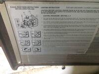 Aga gas cooker