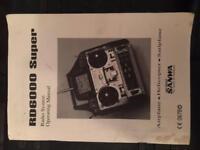 Sanwa RD6000 instruction manual *FREE*