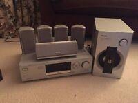 """42"""" Samsung + Philips surround sound system"""