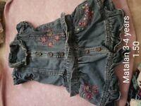 Girls clothing age 3-4