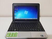 "Laptop Dell Inspiron Mini 1011 10.1"", Intel Atom CPU, 250GB HDD, 1GB RAM, Pre-installed Windows 7"