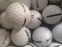 All types of golf balls for sale of mixed joblot or requested branded ? 300 for £15