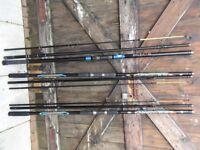 JOB LOT SEA FISHING - 3 x RODS & 3 x REELS