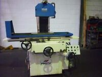 PROTH MODEL PSGS 2550 AH SURFACE GRINDER YEAR 1988