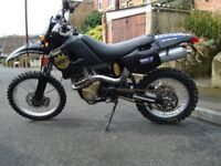 1998 Husqvarna te610e, trail bike.