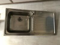 Stainless Steel single bowl Kitchen Sink with Tap