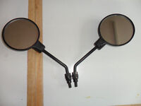 2 Motorcycle mirrors