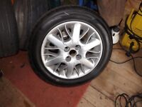 ROVER 45/MG ZS/HONDA ALLOYS AND 195/55/15 TYRES
