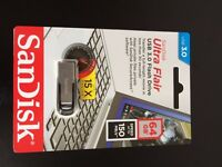 SanDisk Ultra Flair USB 3.0 Flash Drive 64 GB £16