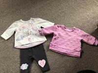 Nutmeg outfit, baby girl, up to 1 month