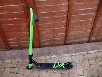 Green and Black Zinc Stunt Scooter