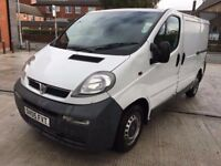 WHITE VAUXHALL VIVARO 2700 DTI (SWB) 1.9 PANEL VAN BARGAIN PRICE QUICK SALE