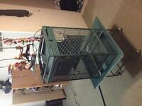 Large bird cage for sale need gone ASAP $300 negotiable