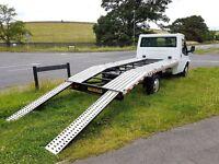 2008 ford transit 100bhp t350 recovery truck transporter mwb NO VAT, Long MOT
