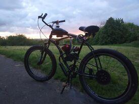 80cc custom beach cruiser motorized bicycle