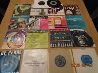job lot of assorted 45,s single records
