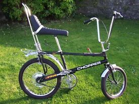 WANTED VINTAGE BICYCLES RALEIGH CHOPPER, GRIFTER, BURNER, BOMBER, RACERS, TRADITIONAL ANYTHING OLD