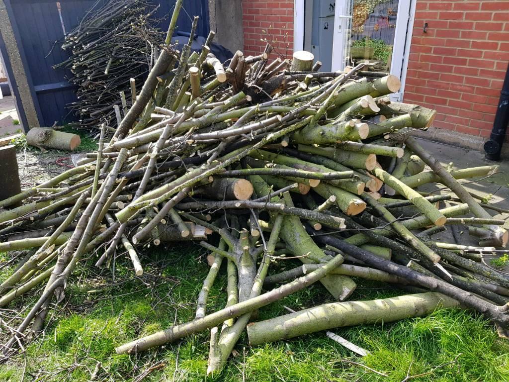 **** FREE **** Firewood logs