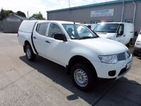 MITSUBISHI L200 4WORK 2013 WITH JUST 54785 MILES