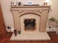 Beautiful stone fireplace, excellent conition. Buyer to collect.