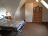 One bedroomed, furnished, 2nd floor flat in Invergordon town centre.