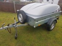 CAR TRAILER BRENDERUP BOX TRAILOR FISHING CAMPING CAR BOOT FREE IFOR WILLIAMS KEY RING..:)