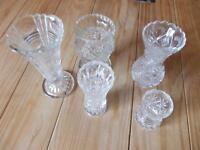 5  Vasen Bleikristall Nachtmann Vase Sammlung Rheinland-Pfalz - Emmelshausen Vorschau