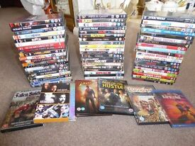 DVDs 66 in total over 70 movies