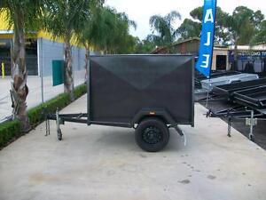 Box Trailer 7 x 5 H/D Van Trailer with 4 Foot Roof Epsom Bendigo City Preview