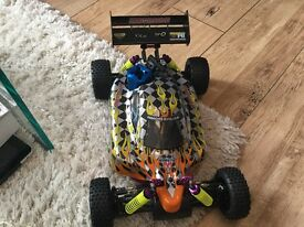 Nitro Fuel Remote Control Car