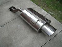 CLEAN CIVIC TYPE R MAGMEX OVAL BACK BOX EXHAUST K20 EP3 L@@K BARGAIN