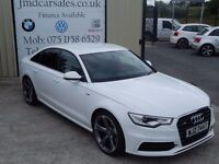 LATE 2011 AUDI A6 2.0 TDI S-LINE AUTO BLACK EDITION SPEC ( WARRANTY & FINANCE AVAILABLE)
