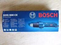 Bosch Professional heat gun GHG 600 CE 240v 2000 watts full electronic control - brand new unused