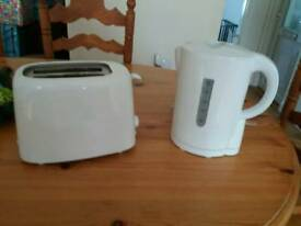 Kettle and toaster