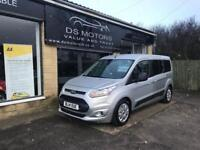 2014 FORD TOURNEO CONNECT ZETEC SILVER 7 SEATER