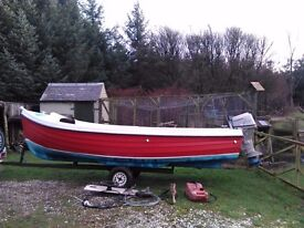 ORKNEY LONGLINER 16FT WITH HONDA15HP FOURSTROKE OUTBOARD AND EXTRAS