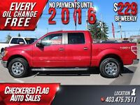 2011 Ford F-150 Lariat W/ Heated Leather-Sunroof-Nav-4X4