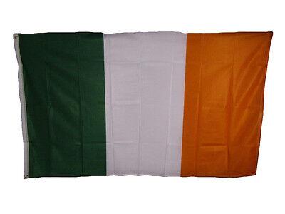 Flags Of Ireland (3x5 Country of Ireland Irish Knitted Nylon Flag 3'x5'  Banner Brass)