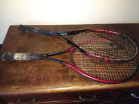 two tennis rackets to give away