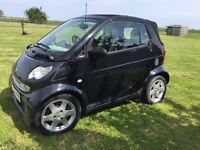 Smart Fortwo Cabriolet (04) complete with Towing A-Frame