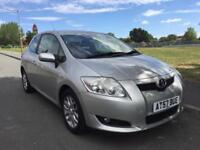 Toyota Auris 2007, low miles with 12 Months MOT
