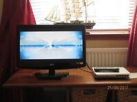 22inch LG TV & DVD Player