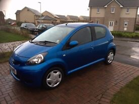 Toyota Aygo Blue for sale
