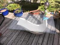 marble & glass coffee table