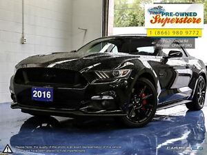 2016 Ford Mustang GT Premium***CAP unit with Black Pack<<<