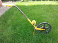 Truemeter measuring wheel