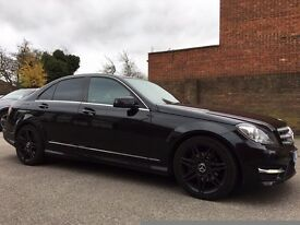 Mercedes Benz c250 7G-Tronic Sports Plus AMG Midnight Package *RARE* All Black - 2012 - 62 Plate