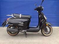 BRAND NEW 2017 WK BELLISSIMA 50 RETRO MOPED SCOOTER
