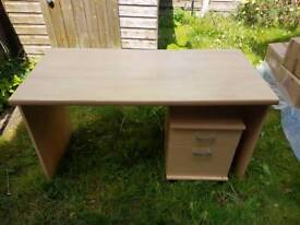 Large Desk with small drawers